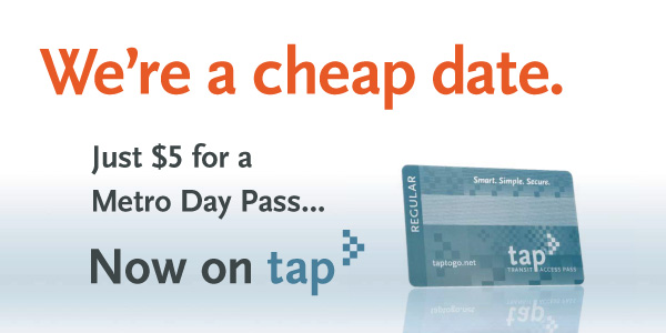 Metro now offers a day pass for just $5!