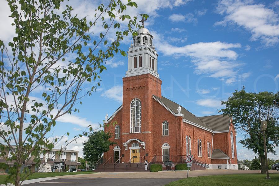 St. Vital Church in Beaumont, Alberta