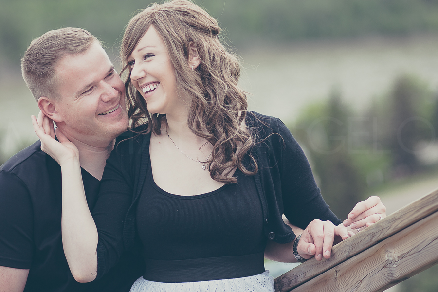 Manuel Oppel and Megan Burlet on the 2nd of their two-part engagement session