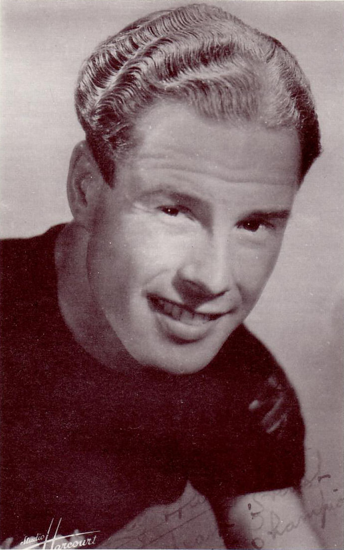 Studio portrait of Reg Harris, 1948.