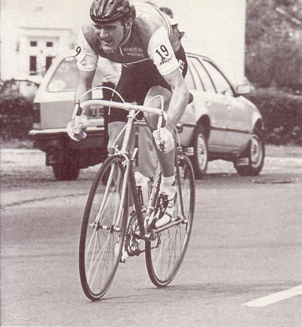 National Road Race Championships 1981.  Bob Downs.