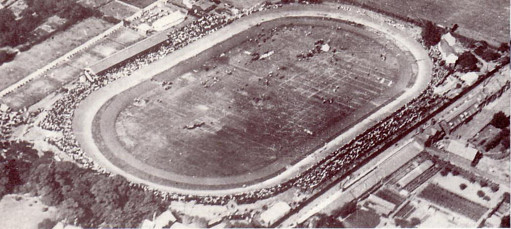 Aerial view of Fallowfield probably taken in the early 1920's.