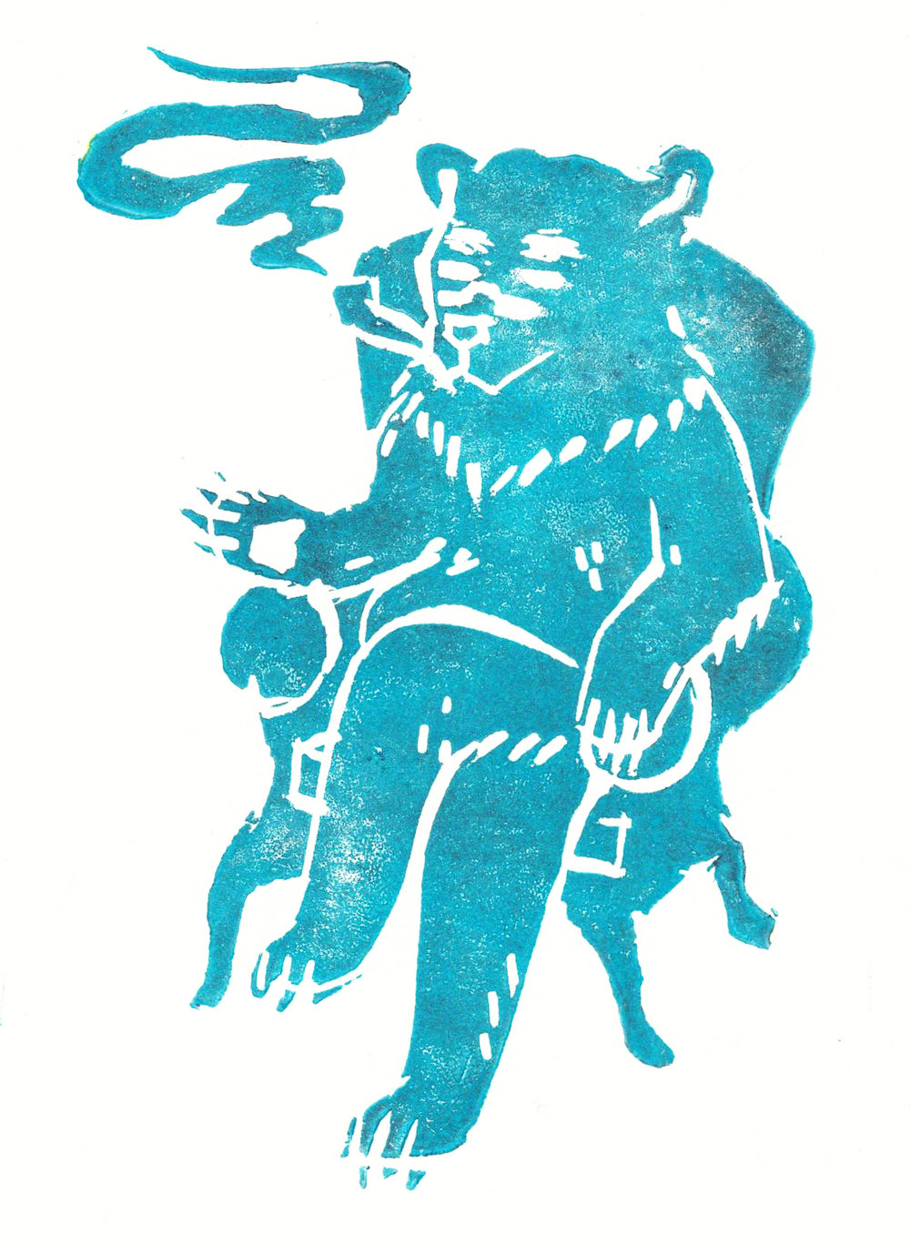 LINOCUT_Smoking_bear.jpg