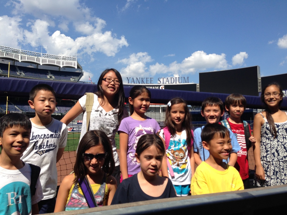 Camp Mandarin visits Yankee Stadium