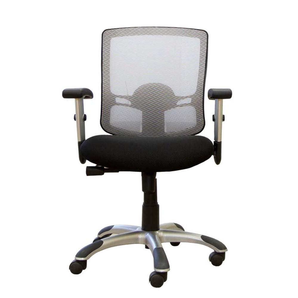 Silver Mesh Tilter Chair