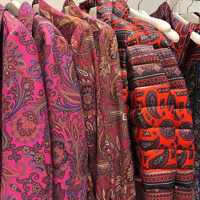 Paisley parkas @etro  #fallcolors #etro #jacket #torontoshopping