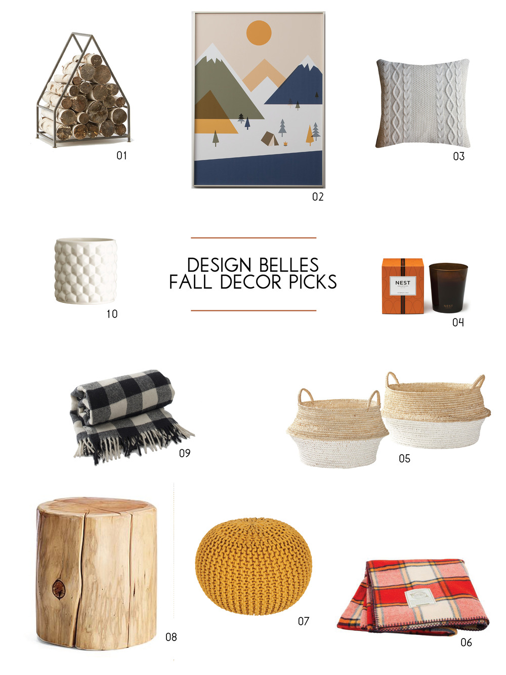 2015 Fall Decor Picks