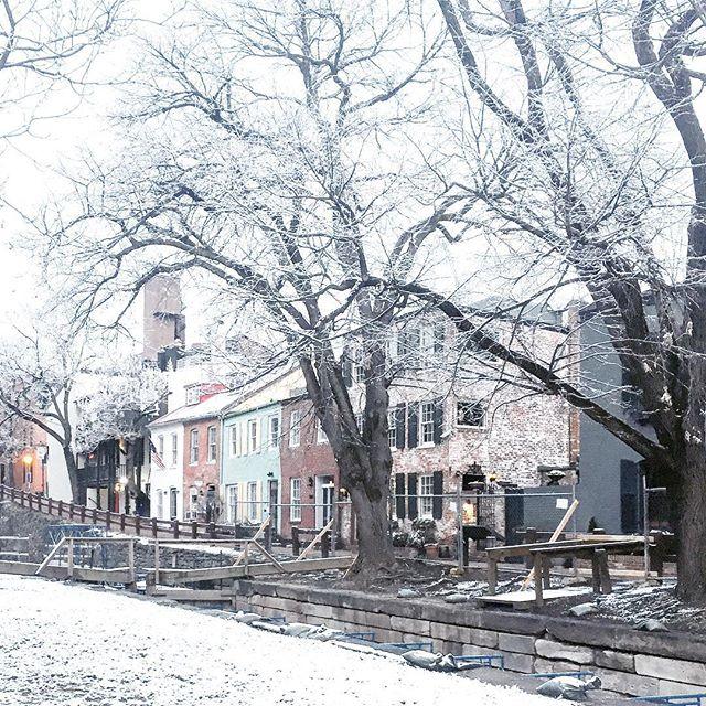 snowy coffee walk ☕️