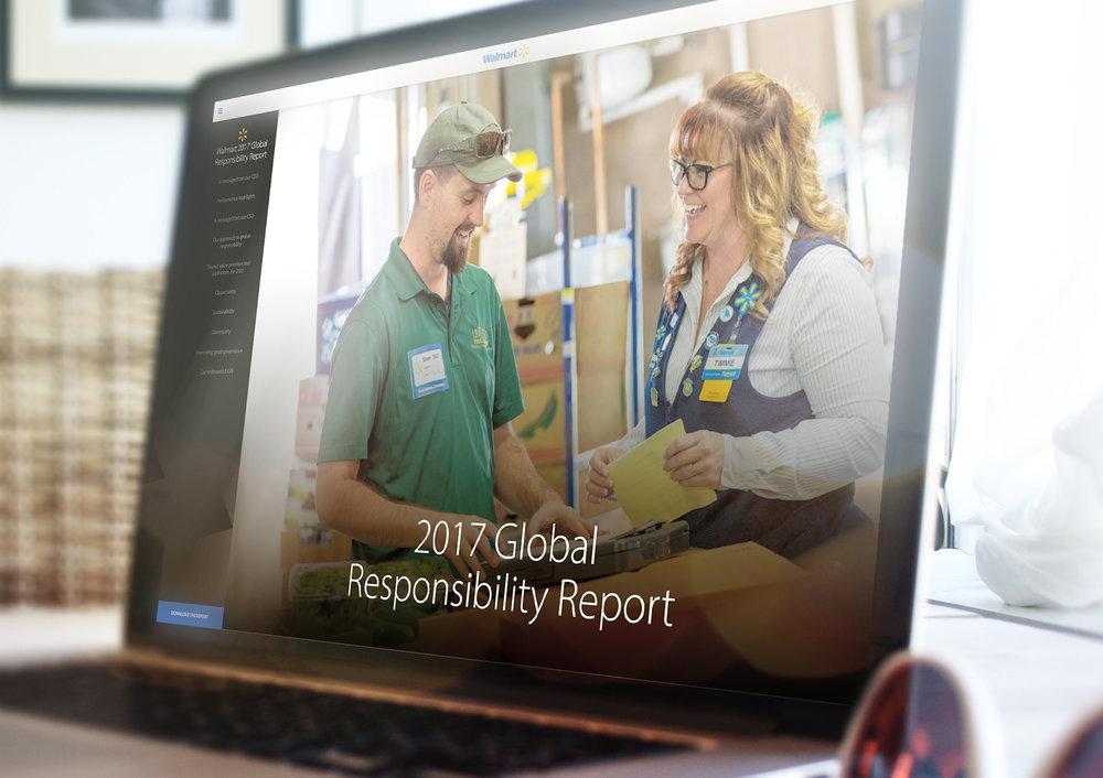 Walmart's  2017 Global Responsibility Report.