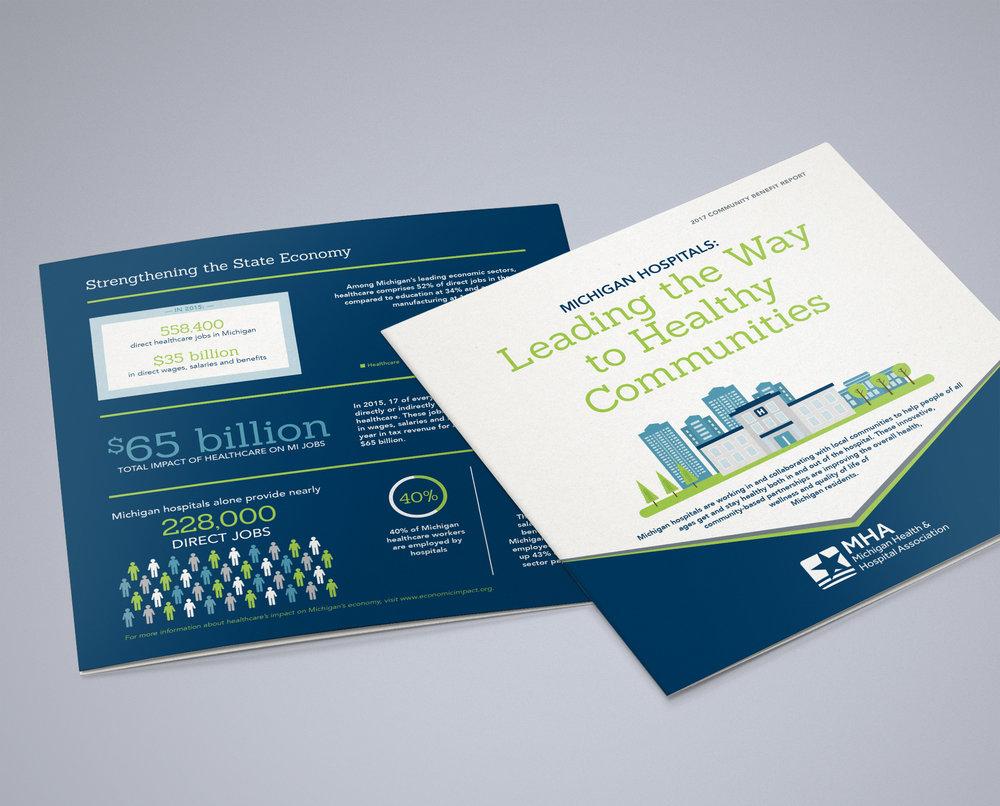 Michigan Hospitals'  Community Benefit Report.