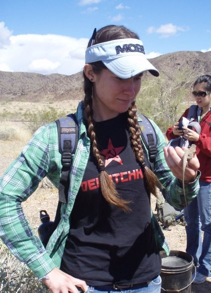 "Aireona Bonnie Raschke: ""I like to help out research/project proposals that deal with conservation biology, ecotourism, ecosystem services, and ecology. I'm a geek about too many things! In particular, I love travel, hiking, and anything related to sci-fi and/or biology. I know ecotourism and qualitative social research resources like the back of my hand. Get in touch with me if you have any questions or would like to collaborate. I am also a born and raised Arizonan, so if you need a hiking pal, I am always excited to meet new people and go exploring."""