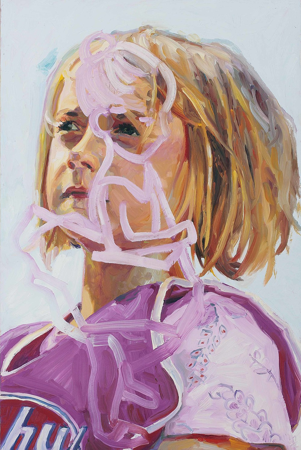 I See You (Penelope), oil on board, 60 x 40 cm, 2008.