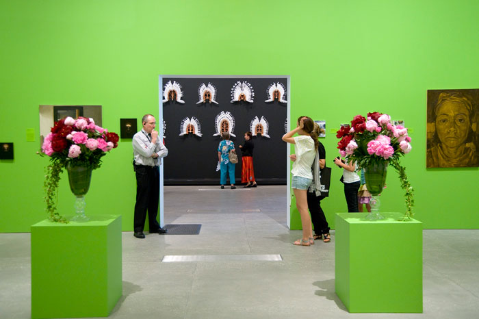 Installation view 'Optimism', Queensland Art Gallery/Gallery of Modern Art, 2008.