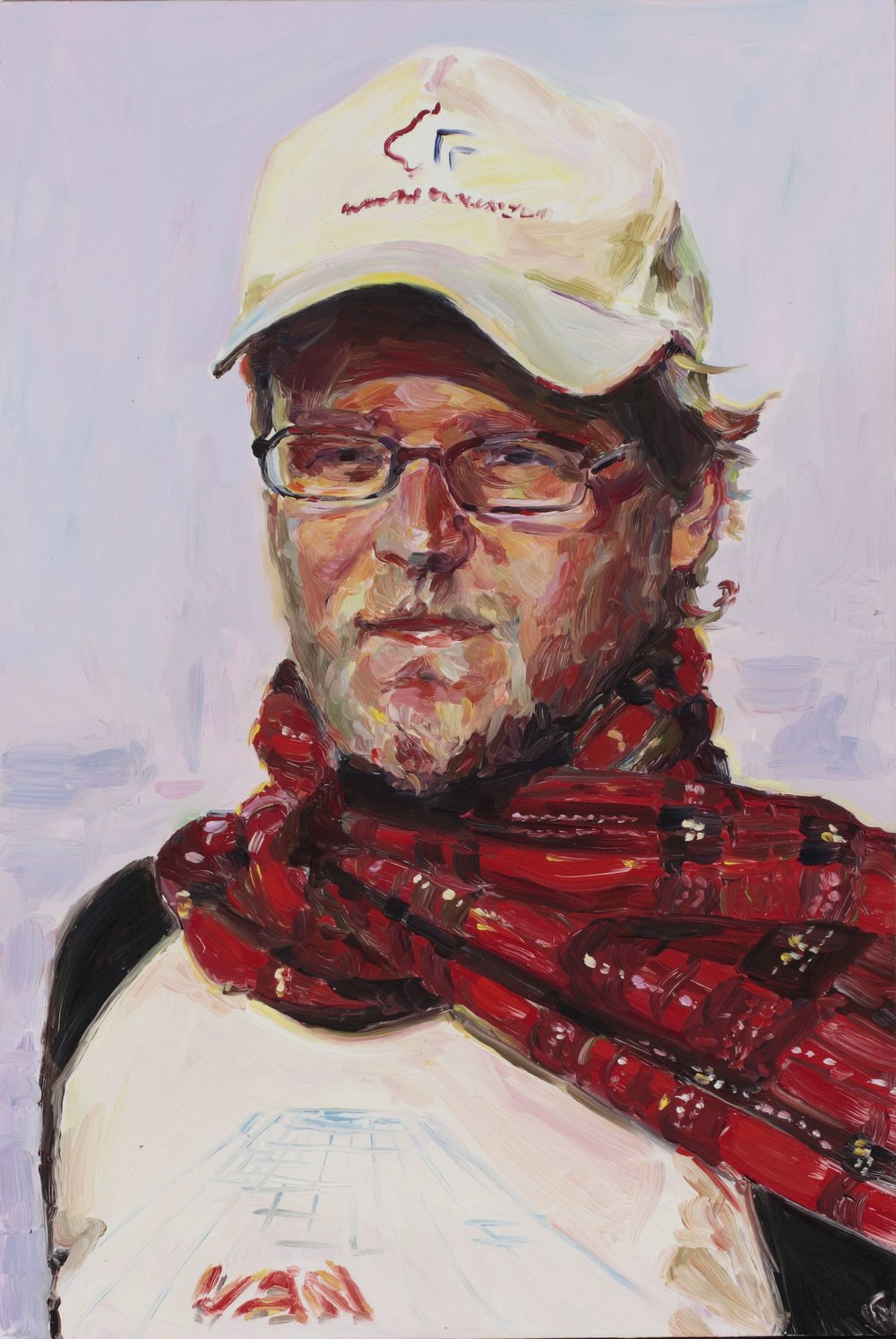 Wes Hill, oil on board, 60 x 40 cm, 2008.