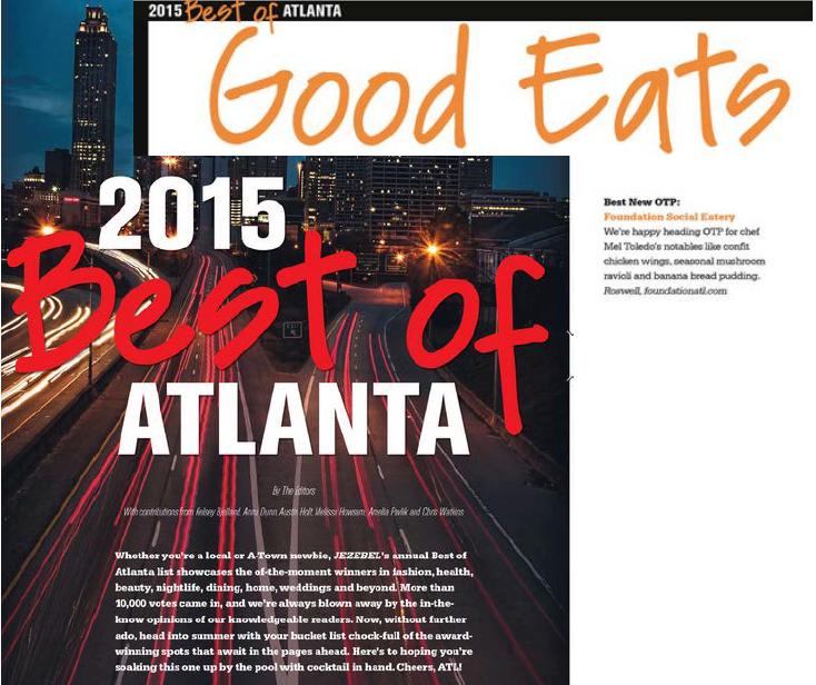 April 2015 - Jezebel's Best of Atlanta 2015 - Best New OTP