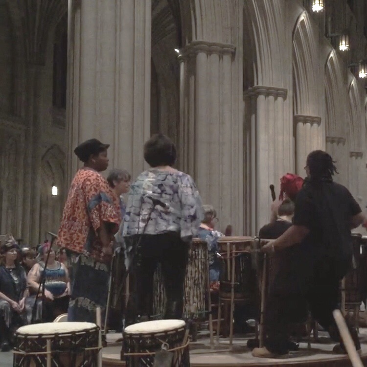 Cathedral Drumming.JPG