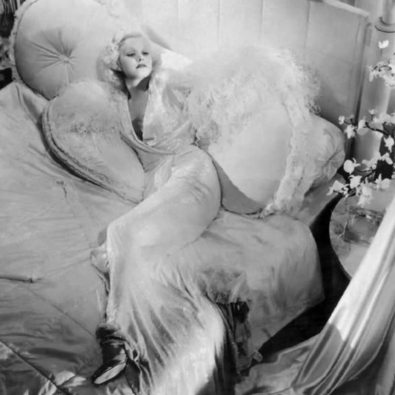 Jean Harlow abed