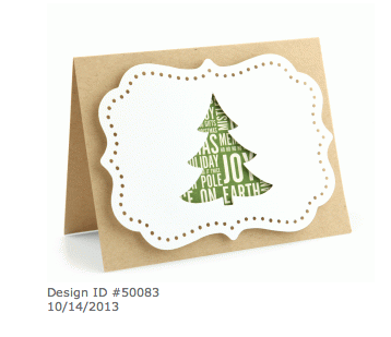 Lori Whitlock a2 christmas tree pop dot card