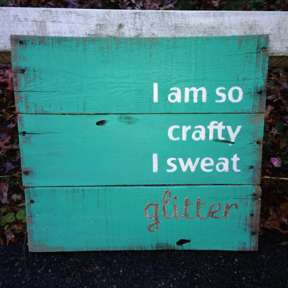 How to make a wooden pallet sign