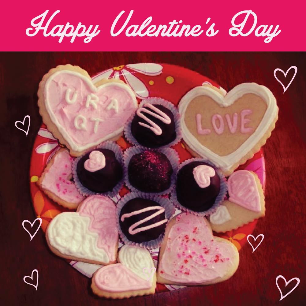 Happy Valentine's Day Cookies