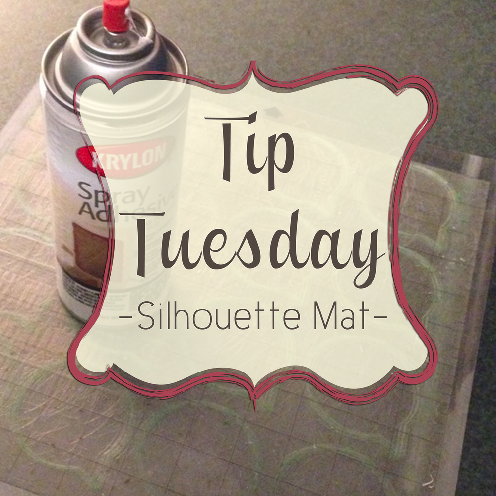 Tip Tuesday Making Your Silhouette Mat Sticky Again