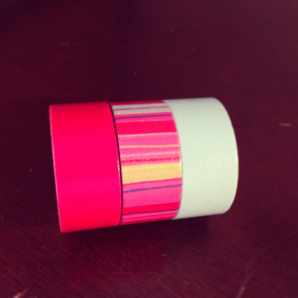 Set-of-three-washi-tape-red-striped-teal-on-etsy