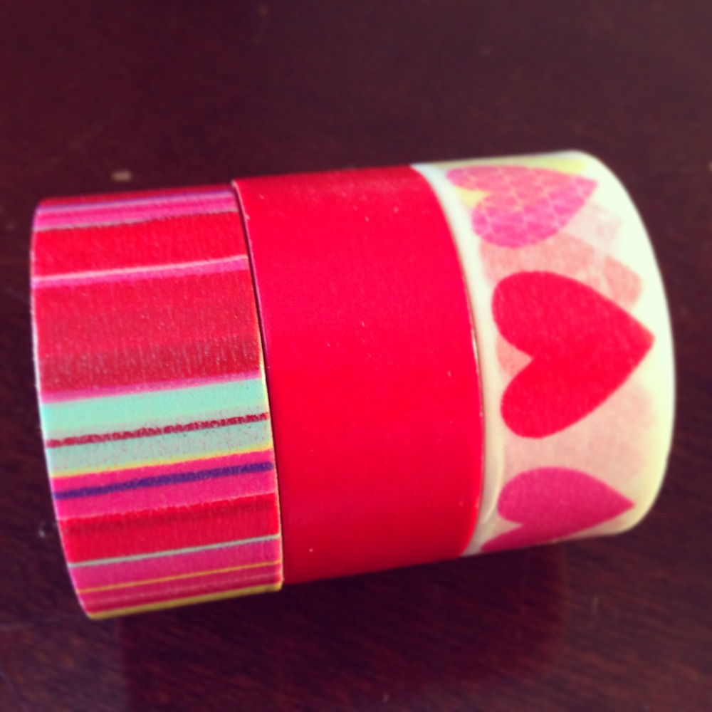 Set-of-three-washi-tape-on-etsy-striped-red-hearts