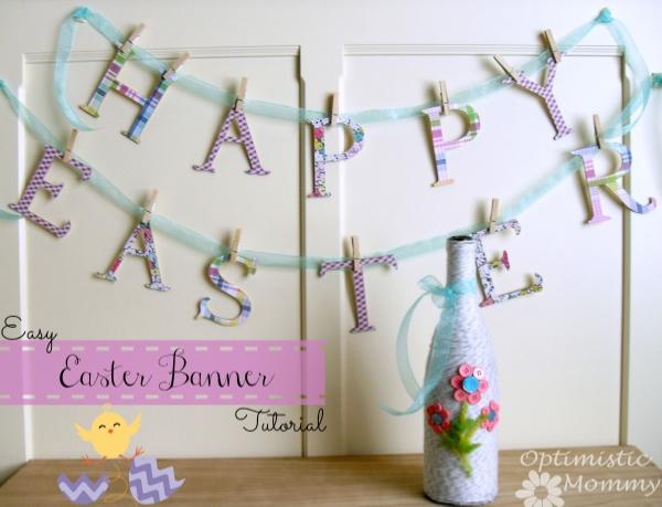 DIY-Easter-Banner