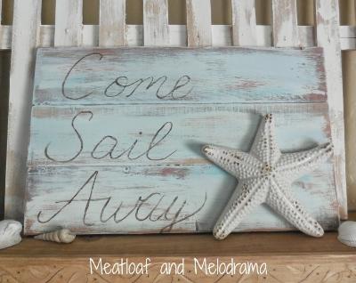 come sail away sign