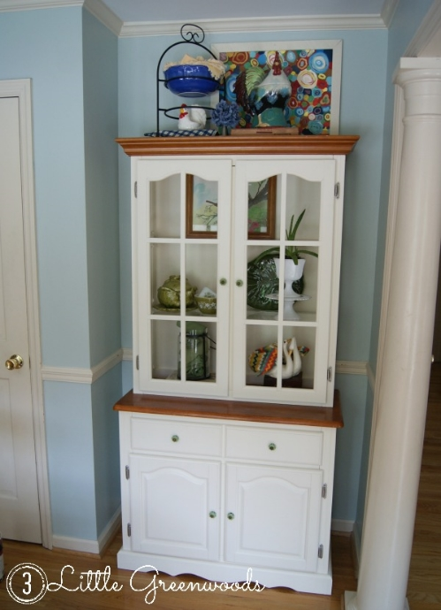 Kitchen Hutch ~ Mission Complete! by Little Greenwoods