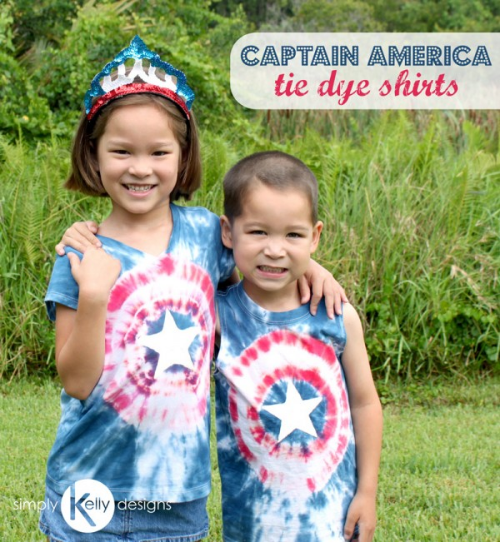 Simply Kelly Designs Captain America Tshirt