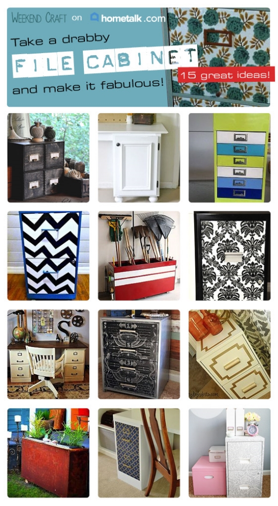 Filing Cabinet Makeovers on HomeTalk