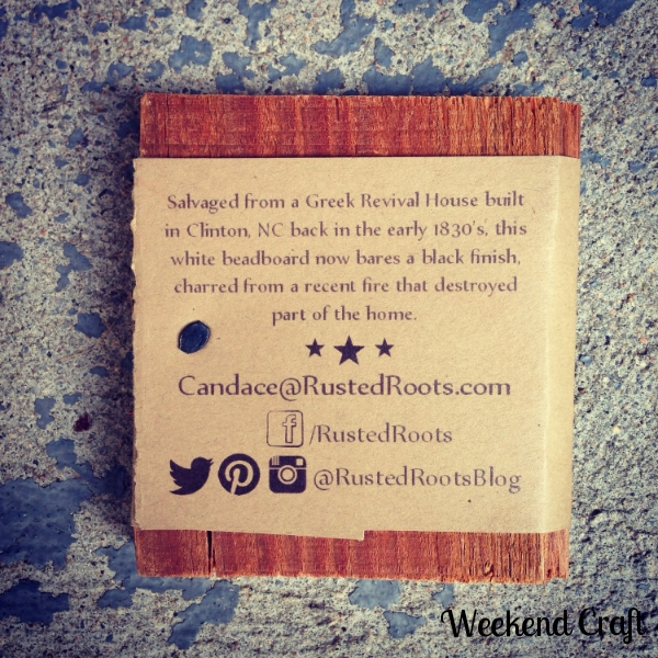 Rusted Roots Business Cards Back