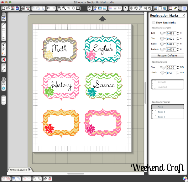 Printable Book Cover Labels : Back to school printable subject labels and