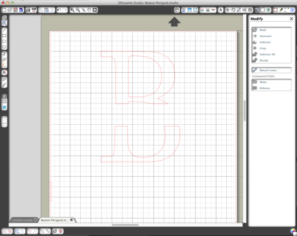Step 4 Creating a Custom Monogram
