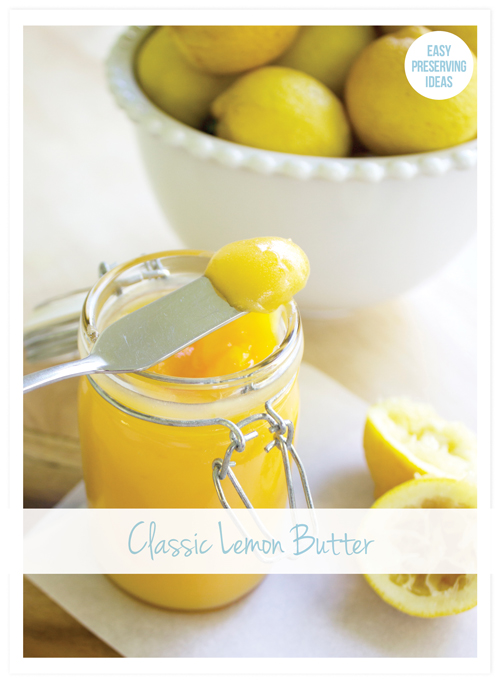 Home made lemon butter