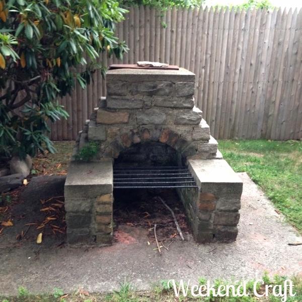 fire pit empty house tour