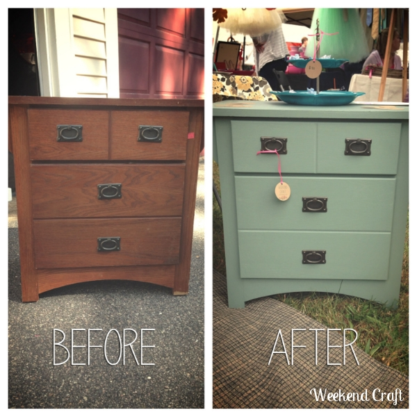 Under 12 Nightstand makeover