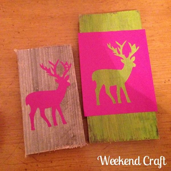 Deer Pallet Signs