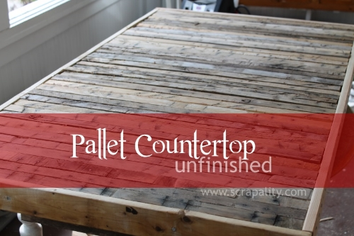 pallet counter top