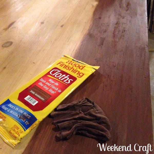 Minwax stain cloth