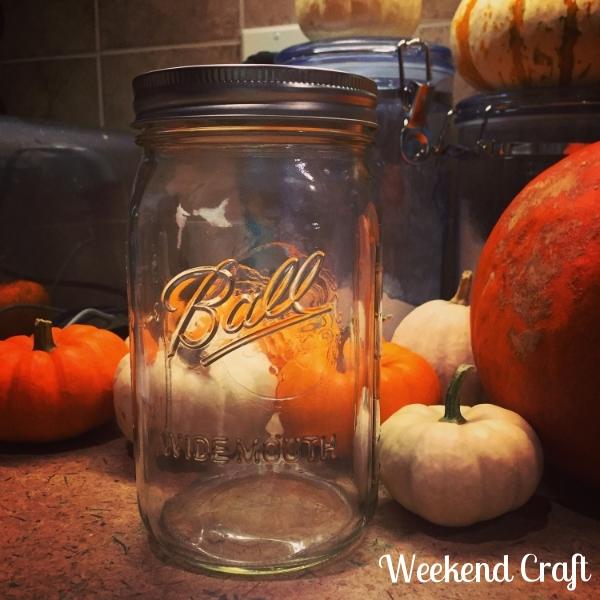 Widemouth mason jars | Weekend Craft