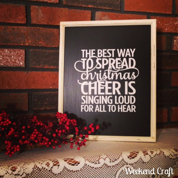 Elf the best way to spread christmas cheer sign