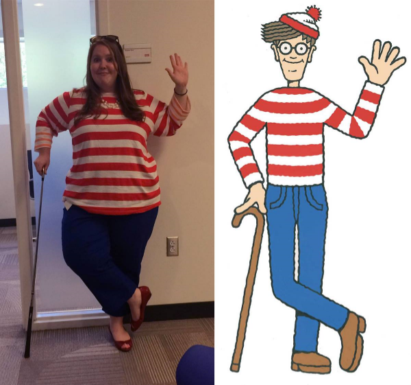 The day I accidentally dressed like Where's Waldo.