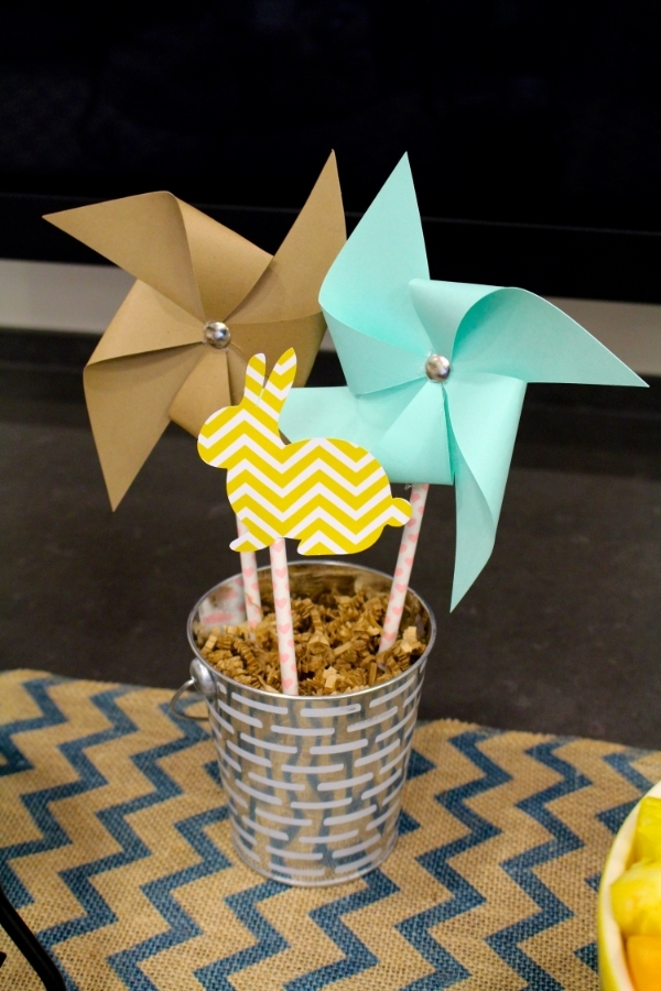 Easter Decorations Pinwheels