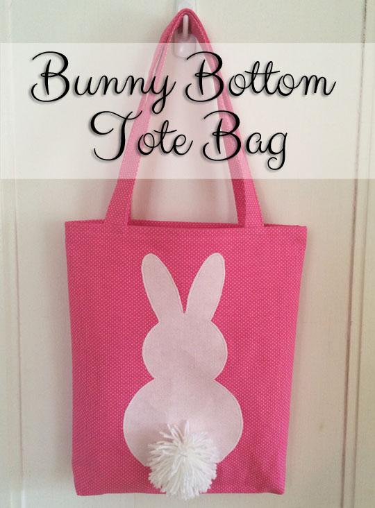 Bunny Tote Bag