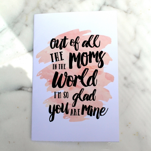 Mother's Day Free Printable Card