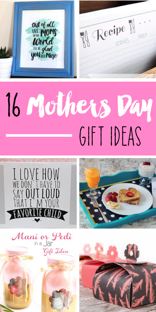 16 Mother's Day Projects