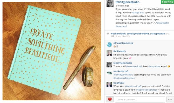 Felicity Jane Instagram