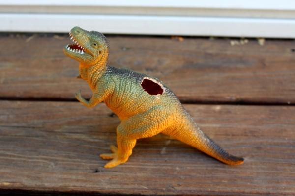 T Rex Dinosaur Planter